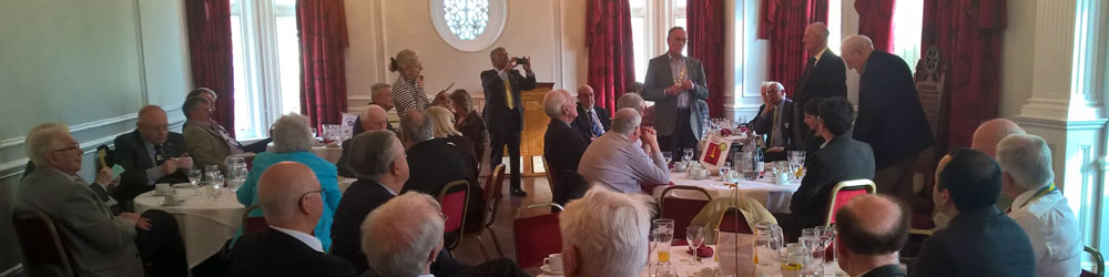Guest speaker at The Rotary Club of Folkestone over lunch at The Burlington Hotel, Folkestone on Monday 23rd February 2015.